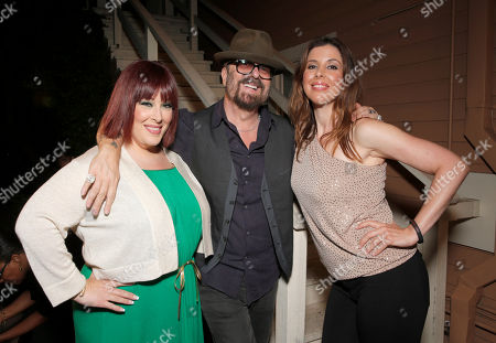 Carnie Wilson, Dave Stewart and Wendy Wilson are seen at A Night for Jolie Levine Sponsored by Lupus LA & Sweet Relief Musicians Fund, at Henson Studios on Friday, May, 31, 2013 in Los Angeles