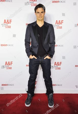 Stock Picture of Gregory Michael arrives at the Abercrombie & Fitch The Making of a Star Spring Campaign Party on Saturday, Feb, 22, 2014 in Los Angeles