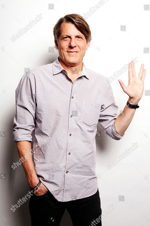 Son of the late Star Trek actor Leonard Nimoy, lawyer-turned-director Adam Nimoy poses for a portrait in promotion of his forthcoming documentary about his father that will coincide with the 50th anniversary of the television debut of Star Trek, on in New York