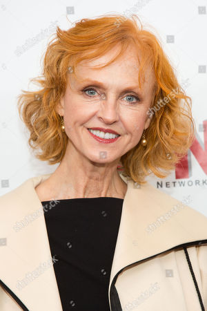 Stock Image of Jill Larson attends the premiere of All My Children And One Life to Live on in New York