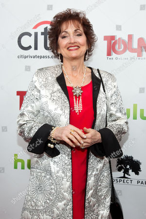 Stock Photo of Robin Strasser attends the premiere of All My Children And One Life to Live on in New York