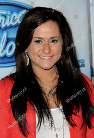 American Idol season 11 contestant Skylar Laine arrives at the American Idol Live! Tour press junket on in Los Angeles