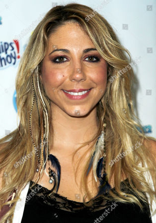 Stock Image of American Idol season 11 contestant Elise Testone arrives at the American Idol Live! Tour press junket on in Los Angeles