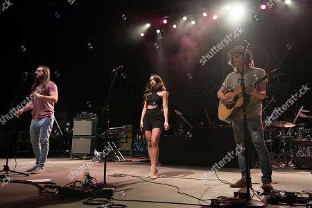 Editorial image of Andy Grammer in Concert - , FL, Boca Raton, USA - 9 Nov 2016