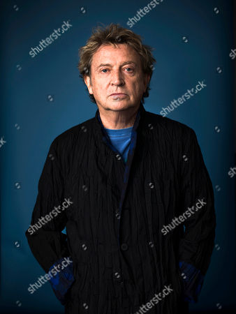 """Andy Summers from The Police poses for a portrait in promotion of his documentary, """"Can't Stand Losing You: Surviving the Police"""" based on his 2006 memoir """"One Train Later,"""" in New York"""