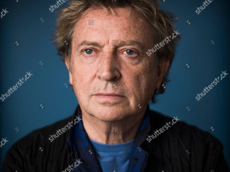 """Guitarist from The Police Andy Summers poses for a portrait in promotion of his documentary, """"Can't Stand Losing You: Surviving the Police"""" based on his 2006 memoir """"One Train Later,"""" on in New York"""