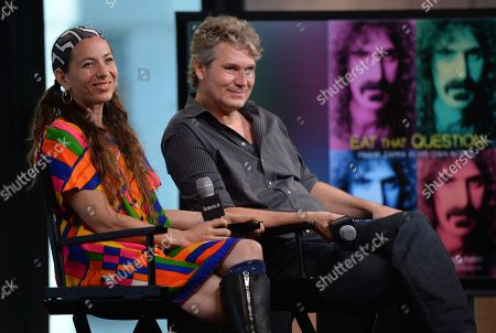 Editorial picture of AOL BUILD Speaker Series: Moon Zappa and Thorsten Schutte, New York, USA - 22 Jun 2016