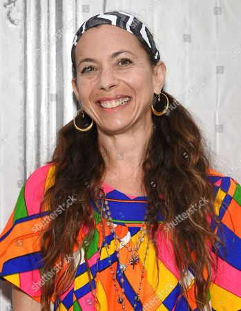 """Moon Zappa participates in AOL's BUILD Speaker Series to discuss the documentary film, """"Eat That Question: Frank Zappa In His Own Words"""", at AOL Studios, in New York"""