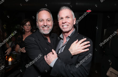 """Producer Todd Black and Writer Richard Wenk attends the Audi and Worldclass 2016 hosted after party for MGM and Columbia Pictures' world premiere and opening night screening of """"The Magnificent Seven"""" at the Toronto International Film Festival, in Toronto, CAN"""