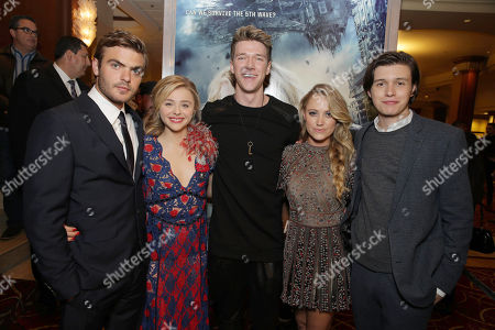 Editorial picture of AwesomenessTV special fan screening of Columbia Pictures 'The 5th Wave', Los Angeles, USA - 14 Jan 2016