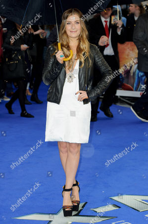 Stock Picture of Molly Smitten-Downes arrives for the UK Premiere of X-Men Days Of Future Past at a central London cinema