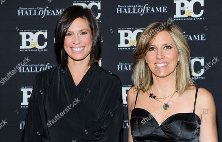 Stock Photo of Life style journalist Megan Meany, left, and FOX News anchor Alisyn Camerota attend the 23rd Annual Broadcasting & Cable Hall of Fame Awards at the Waldorf-Astoria on in New York