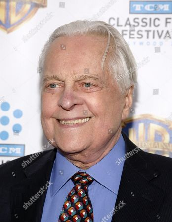 """Television personality Robert Osborne attends the """"Cabaret"""" 40th anniversary screening, at the Ziegfeld Theatre on in New York"""