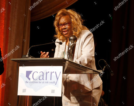 """Stock Image of Orchid Lifetime Achievement Award winner Janie Bradford at the CARRY Foundation's 7th Annual """"Shall We Dance"""" Gala at The Beverly Hilton Hotel on in Beverly Hills, California"""
