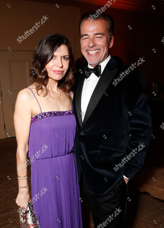 """Finola Hughes, Ian Buchanan attend the CARRY Foundation's 7th Annual """"Shall We Dance"""" Gala at The Beverly Hilton Hotel on in Beverly Hills, California"""