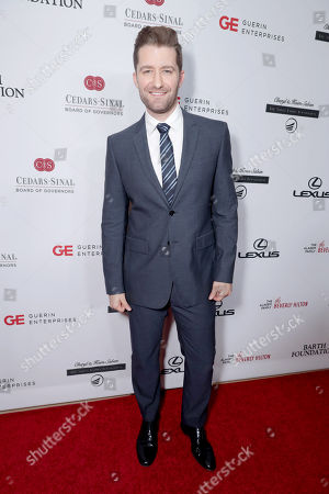 Matthew Morrison seen at Cedars-Sinai Board of Governors honoring Adele and Beny Alagem and Sylvester Stallone at 2016 Annual Gala at Beverly Hilton Hotel, in Beverly Hills
