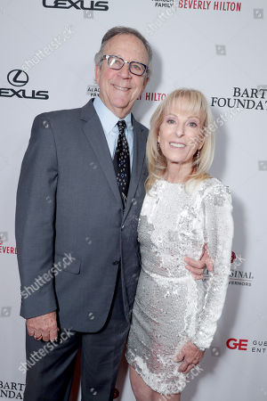 Bob Spivak and Leslie Spivak, Cedars-Sinai Chair of Board of Governors, seen at Cedars-Sinai Board of Governors honoring Adele and Beny Alagem and Sylvester Stallone at 2016 Annual Gala at Beverly Hilton Hotel, in Beverly Hills