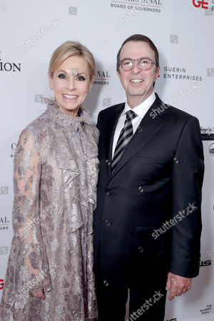 Adele Alagem and Beny Alagem seen at Cedars-Sinai Board of Governors honoring Adele and Beny Alagem and Sylvester Stallone at 2016 Annual Gala at Beverly Hilton Hotel, in Beverly Hills