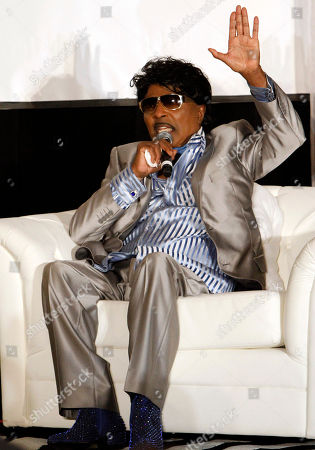 """Singer/Songwriter and Rapper Cee Lo Green interviewed legendary artist Little Richard as part of the Recording Academy Atlanta Chapter's """"The Legacy Lounge"""" at the W Hotel on Sunday 29, 2013, in Atlanta, Ga. """"The Legacy Lounge"""" pairs contemporary artists with their musical idols and inspirations in an exclusive question and answer session in a room of music industry veterans"""