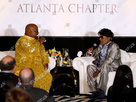 Editorial photo of Cee Lo Green and Little Richard in , Atlanta, USA - 29 Sep 2013