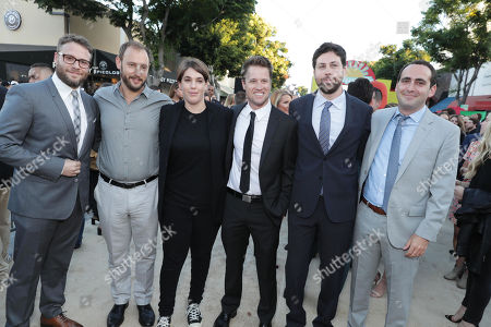 "Editorial picture of Columbia Pictures and AnnaPurna Pictures present The World Premiere of ""Sausage Party"", Westwood, USA - 9 Aug 2016"