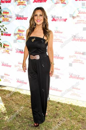 """Stock Picture of Jillian Barberie attends the Disney Junior's """"Pirate And Princess: Power Of Doing Good"""" Tour event at Brookside Park, in Pasadena, Calif"""