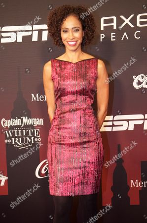 Sage Steele attends ESPN The Party on in New York