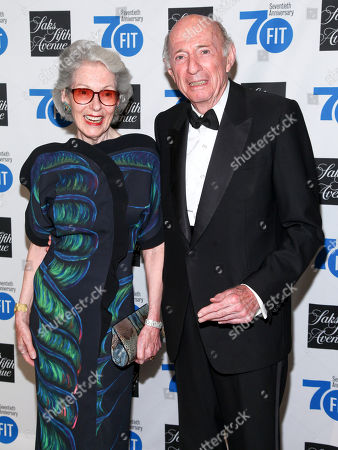 Stock Picture of Barbara Tober, left, and Donald Tober, right, attend the Fashion Institute of Technology's Annual Gala at Cipriani 42nd Street, in New York