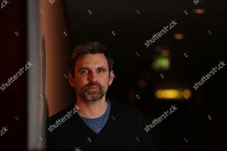 Director Sebastian Schipper poses for portrait photographs during the 2015 Berlinale Film Festival in Berlin
