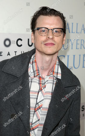 Kevin Rankin seen at Focus Features' Dallas Buyers Club Premiere, on Thursday, Oct., 17, 2013 in Los Angeles
