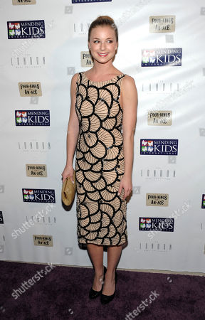 """Actress Emily Van Camp attends """"Four Kings and an Ace"""" celebrity charity poker tournament at The London Hotel, in West Hollywood, Calif"""