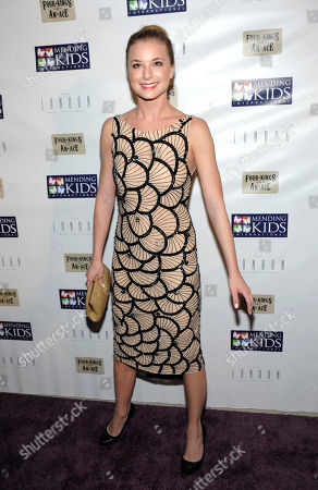 """Stock Photo of Actress Emily Van Camp attends """"Four Kings and an Ace"""" celebrity charity poker tournament at The London Hotel, in West Hollywood, Calif"""