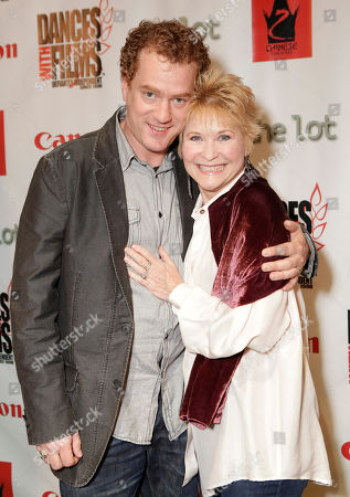 Actor Todd Robert Anderson and Actress Dee Wallace arrive at the Fuzz Track City World Premiere at Dances With Films on in Los Angeles