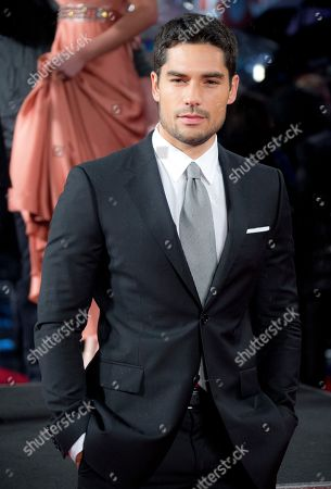 DJ Cotrona arrives on the red carpet for the UK Premiere of GI Joe 3D Retaliation, at a central London cinema in Leicester Square