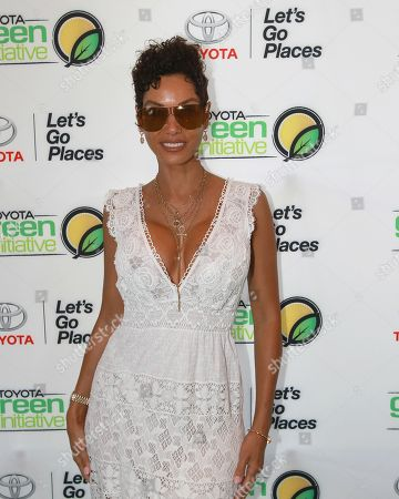 Nicole Mitchell Murphy is seen at the Bryan Michael Cox Breakfast Club Pre Grammy Brunch presented by Toyota Green Initiative and Music & Memory at the Four Season Hotel Beverly Hills on in Los Angeles, CA