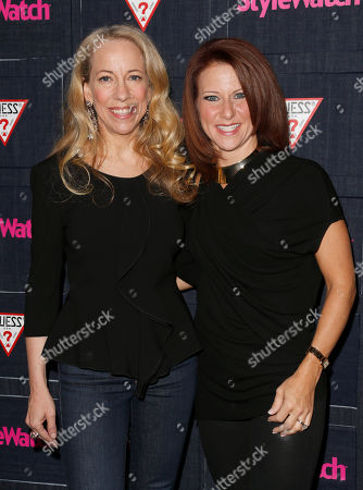 Managing Editor of StyleWatch Susan Kaufman and Publisher of StyleWatch Stephanie Sladkus attend The Hollywood Denim Party at Palihouse, in West Hollywood