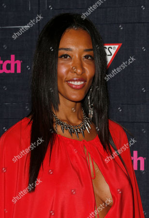 Stock Image of Bo Benton attends The Hollywood Denim Party at Palihouse, in West Hollywood