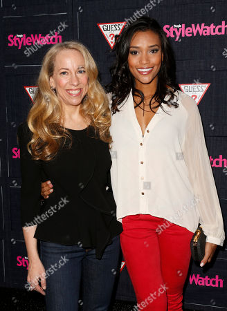 Stock Picture of Managing Editor of StyleWatch Susan Kaufman and Annie Ilonzeh attend The Hollywood Denim Party at Palihouse, in West Hollywood