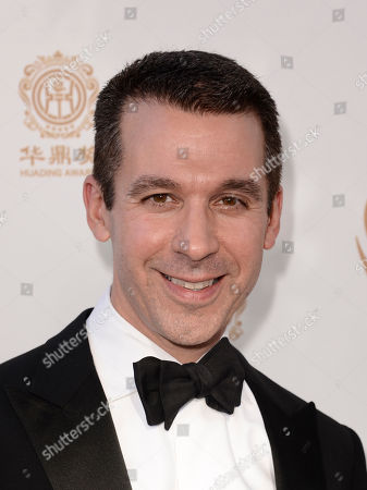 Stock Photo of Charlie Haykel arrives at the Huading Film Awards at the Ricardo Montalban Theater, in Hollywood, Calif