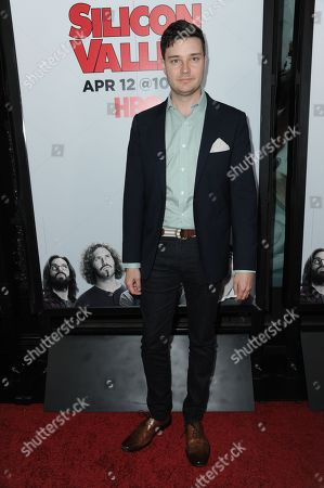 """Stock Image of Michael McMillian arrives at the LA Premiere For Season 2 Of """"The Silicon Valley"""" held at the El CapitanTheatre, in Los Angeles"""