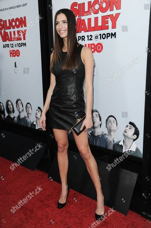 """Natalia Beber arrives at the LA Premiere For Season 2 Of """"The Silicon Valley"""" held at the El CapitanTheatre, in Los Angeles"""