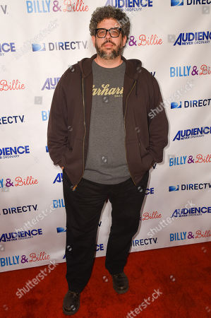 """Neil Labute arrives at the premiere of """"Billy & Billie"""" at The Lot, in West Hollywood, Calif"""