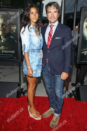 """Actor Matthew Settle arrives at the premiere of """"Dark Tourist"""" at the ArcLight Cinemas on in Los Angeles"""