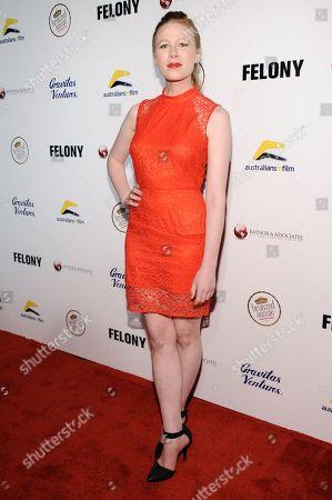 "Editorial image of LA Premiere Of ""Felony"", Los Angeles, USA - 16 Oct 2014"