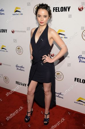 """Freya Tingley arrives at the LA Premiere Of """"Felony"""", in Los Angeles"""