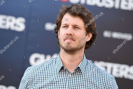 "Jon Heder arrives at the Los Angeles premiere of ""Ghostbusters"" at the TCL Chinese Theatre on"