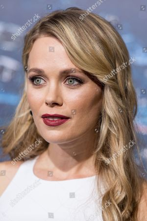 Katia Winter attends the premiere of Warner Bros. Pictures' 'Jupiter Ascending' at TCL Chinese Theatre on in Hollywood, Calif
