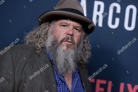 """Mark Boone Junior attends the LA Premiere of """"Narcos"""" Season Two held at ArcLight Cinemas Hollywood, in Los Angeles"""