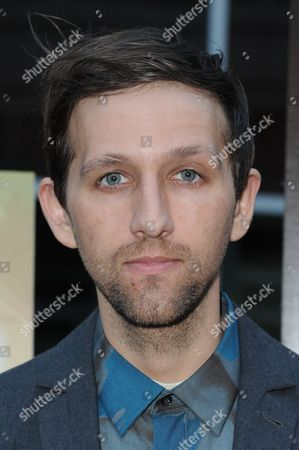 """Andrew Dost arrives at the LA Premiere of """"The D Train"""" held at Arclight Cinemas - Hollywood, in Los Angeles"""