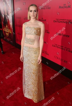 "Editorial photo of LA Premiere of ""The Hunger Games: Catching Fire"" - Red Carpet, Los Angeles, USA - 18 Nov 2013"
